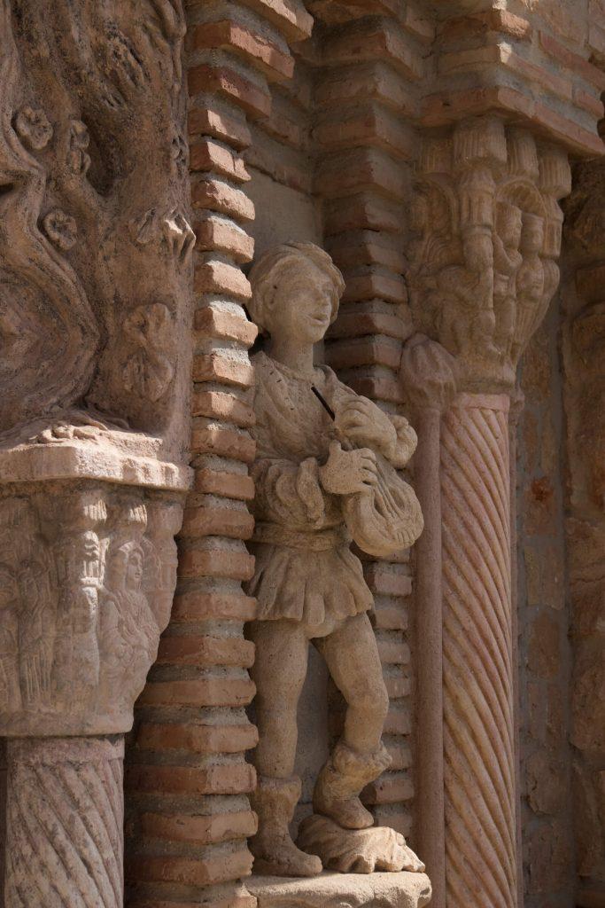 Colomares monument in Benalmadena Pueblo