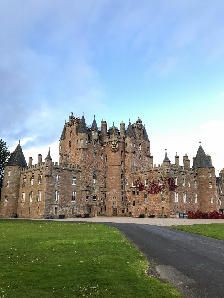 Glamis Castle in Angus