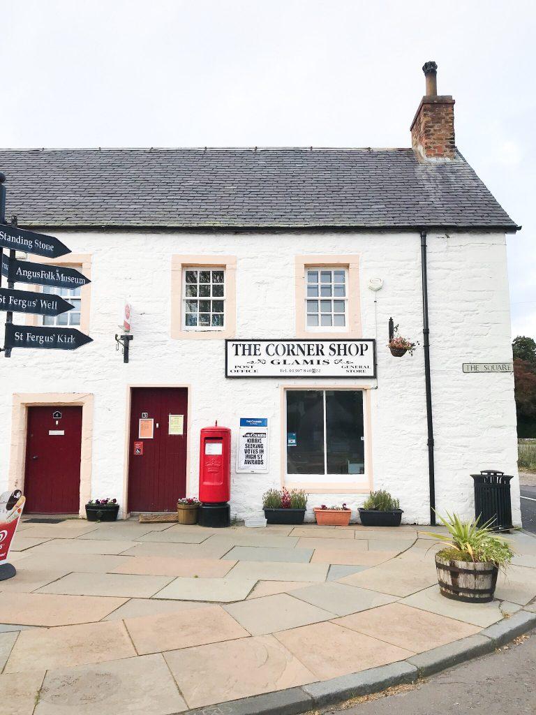 The Corner Shop in Glamis