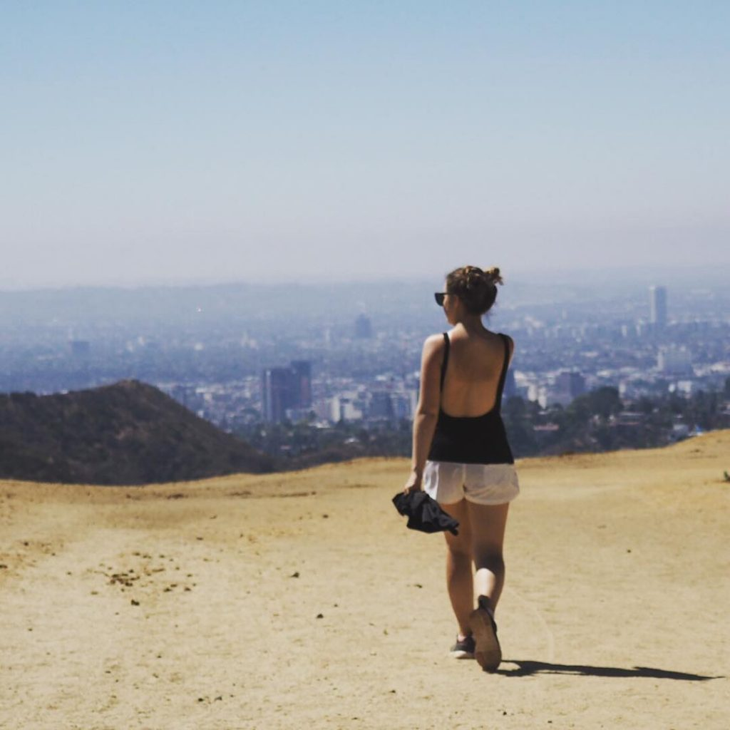 Sights from Hollywood Hills