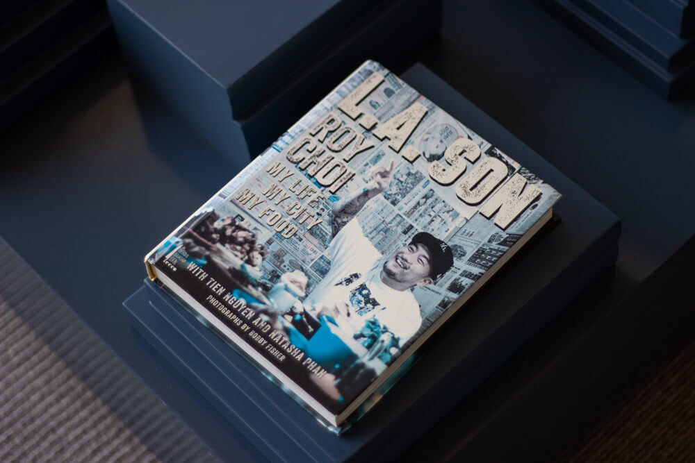 Roy Choi book at The Line
