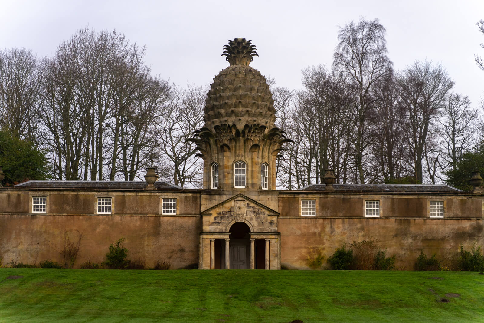 The Pineapple in Scotland