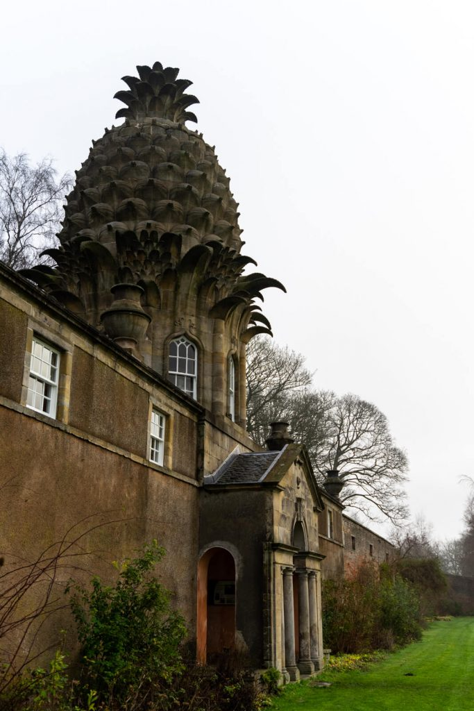 The Pineapple building near Falkirk