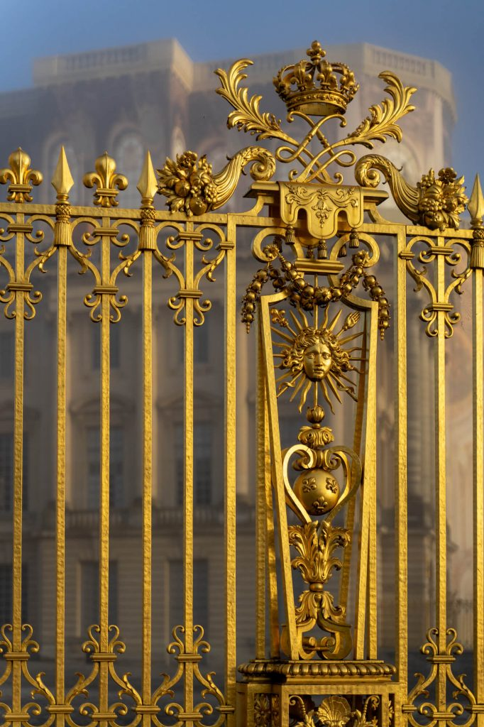 Palace of Versailles gates
