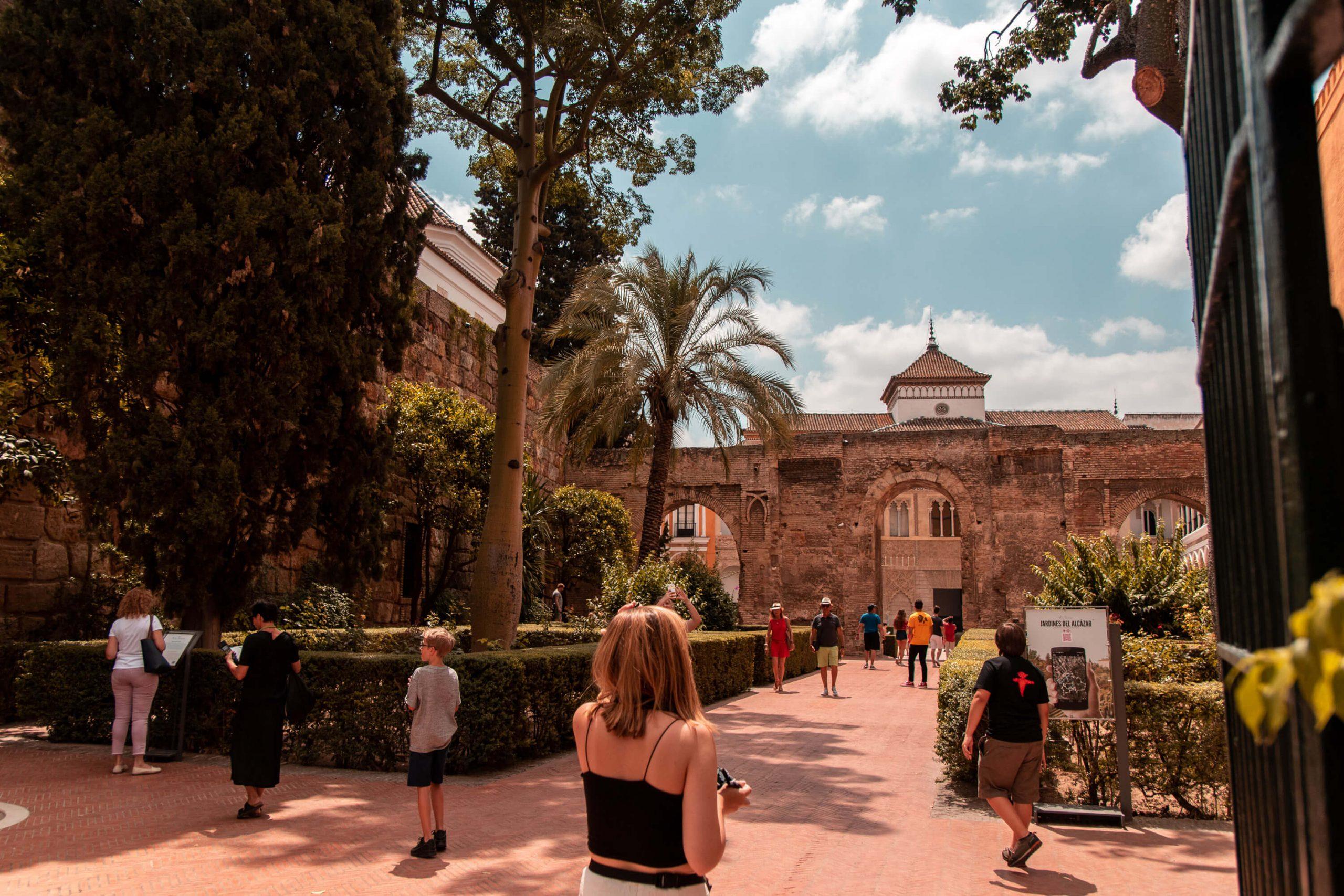 Seville Alcazar Entrance