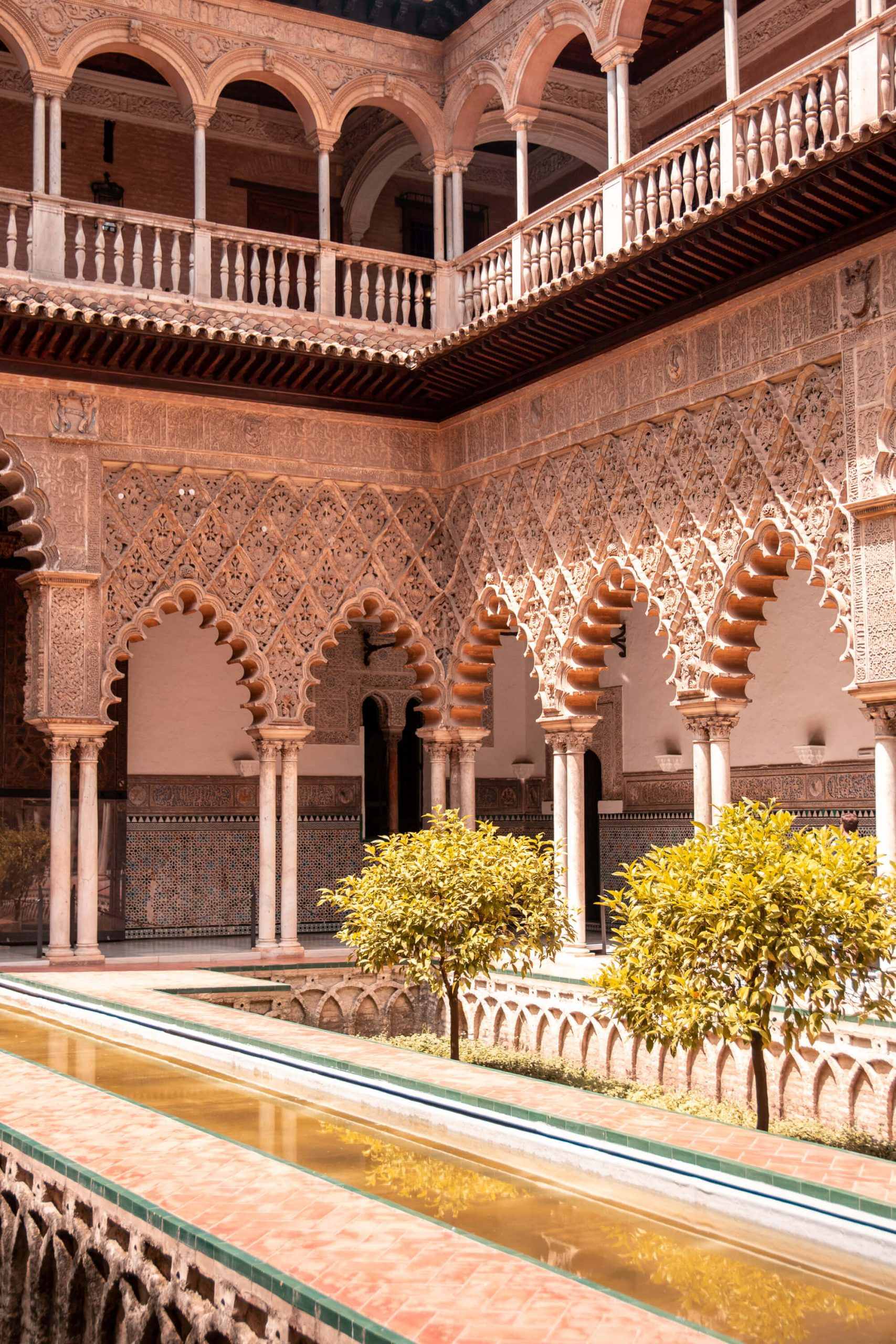 Pool in Alcazar