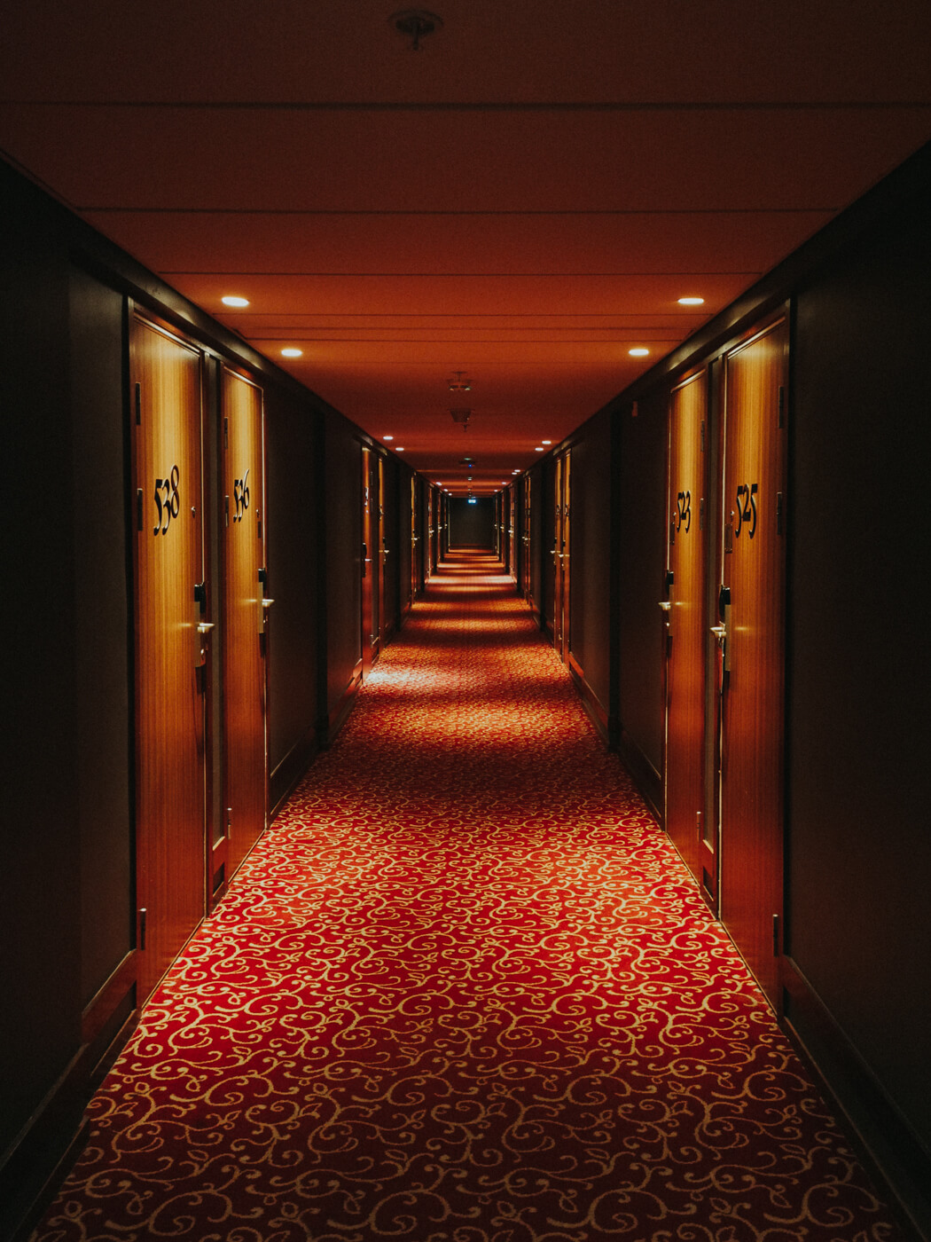 Mornington Hotel Hallways