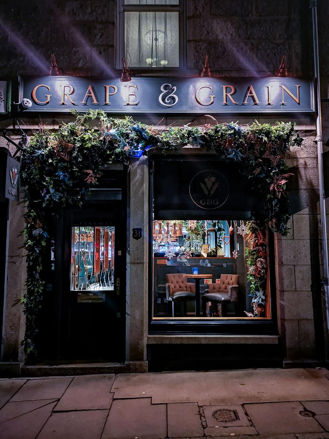 Grape and Grain