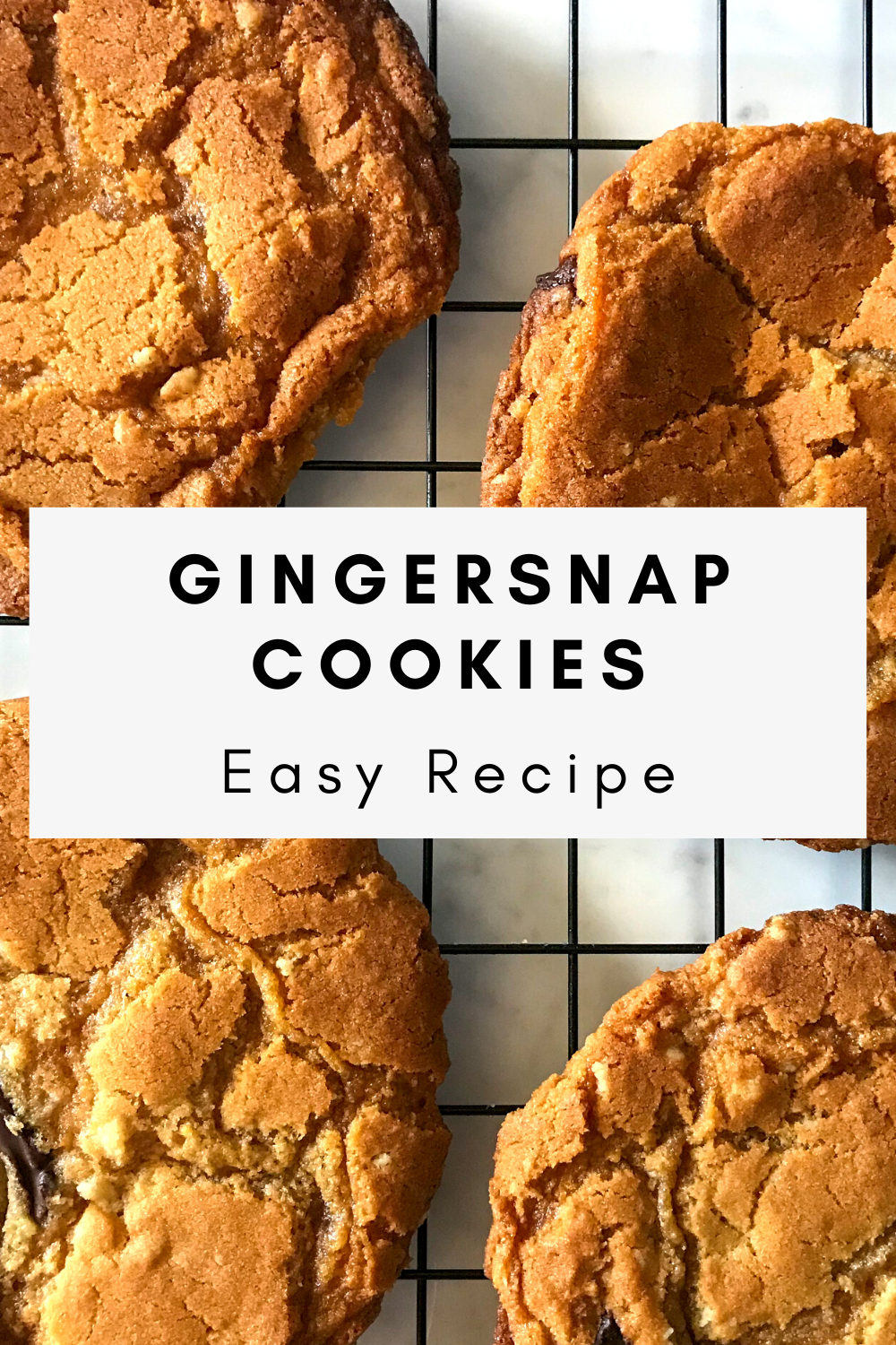 Easy Gingersnap Cookies Recipe