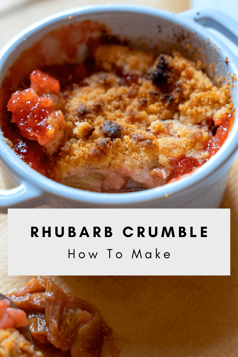 How To Make Rhubarb Crumble