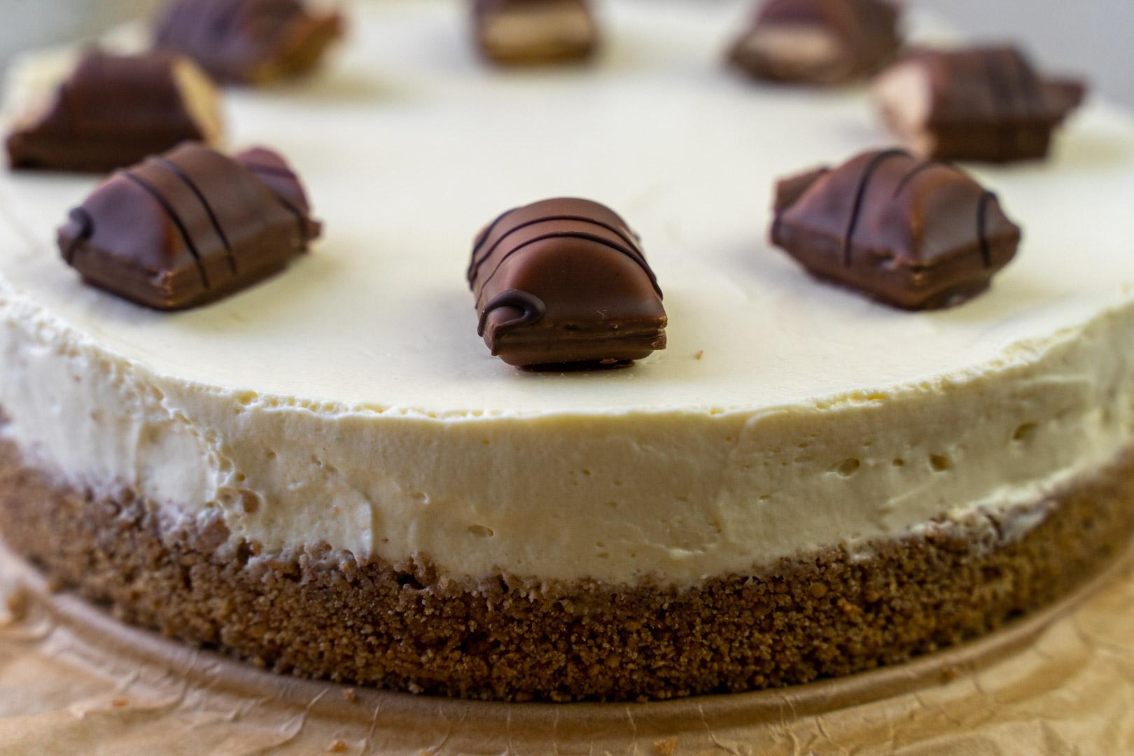 Kinder bueno cheesecake recipe