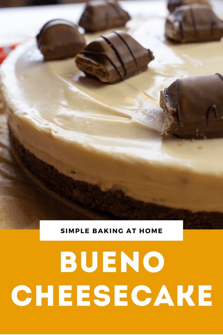 Bueno Cheesecake Recipe