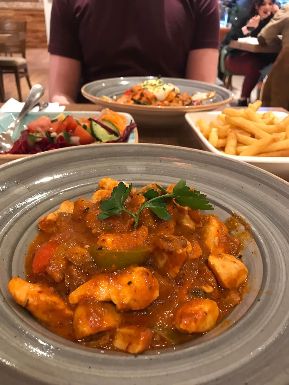 Food at Turkish Kitchen