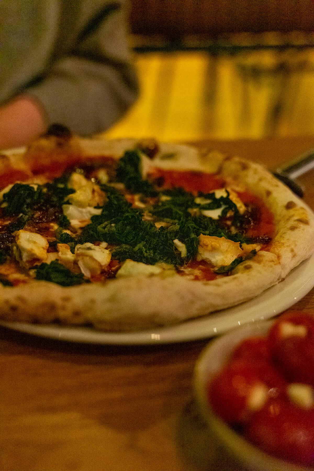 Pizza at Macs