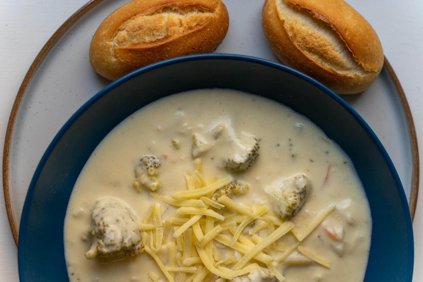 Broccoli Cheese Soup Recipe