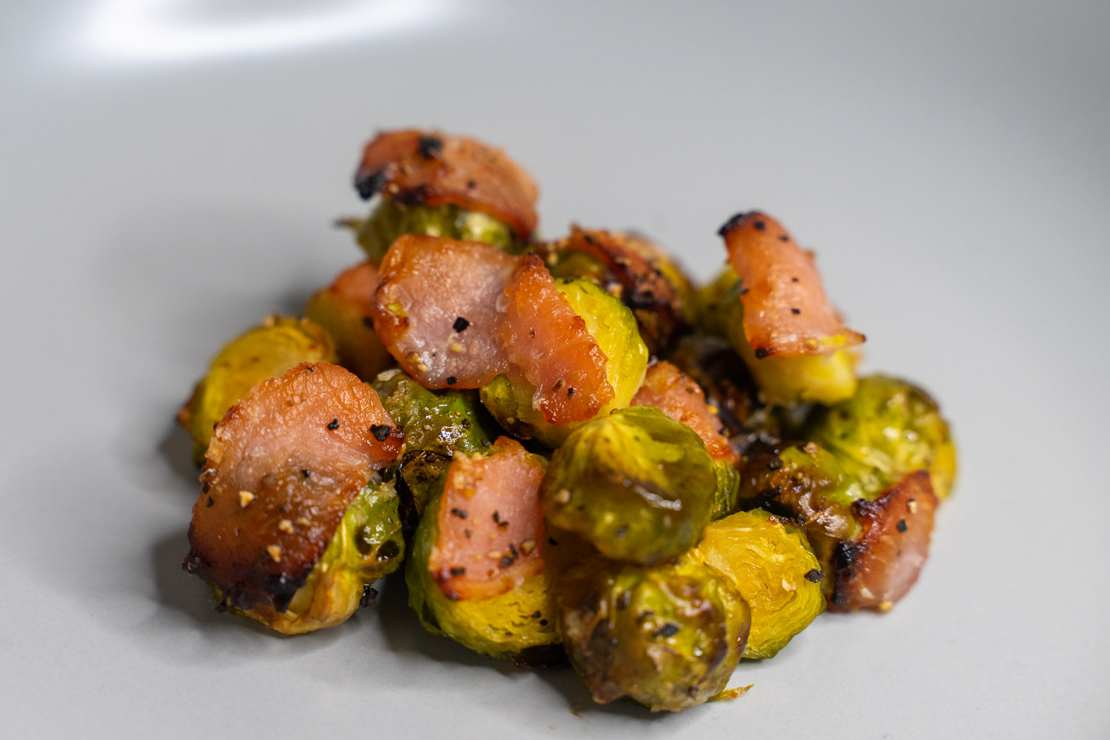 Maple Brussels Sprouts with Bacon Recipe