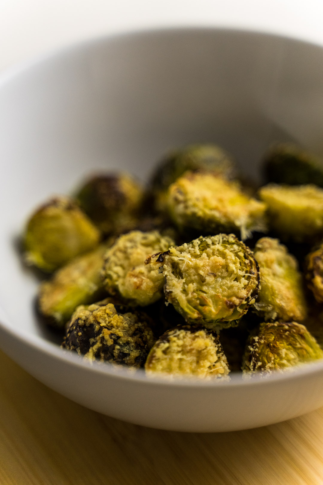 Parmesan Roasted Sprouts Recipe
