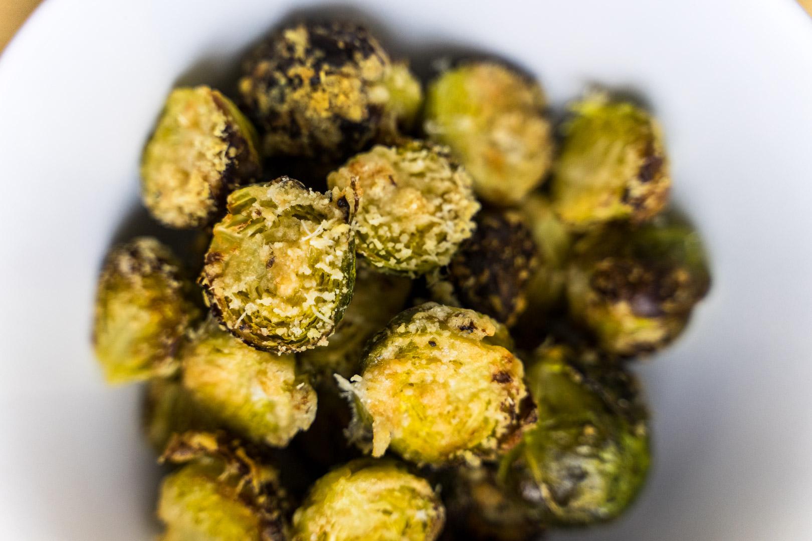 Parmesan Sprouts Recipe