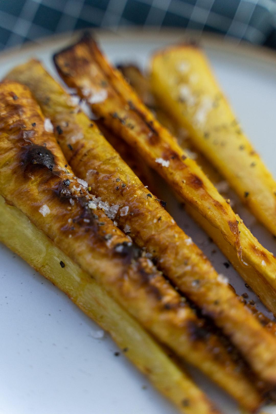Honey Roast Parsnips recipe