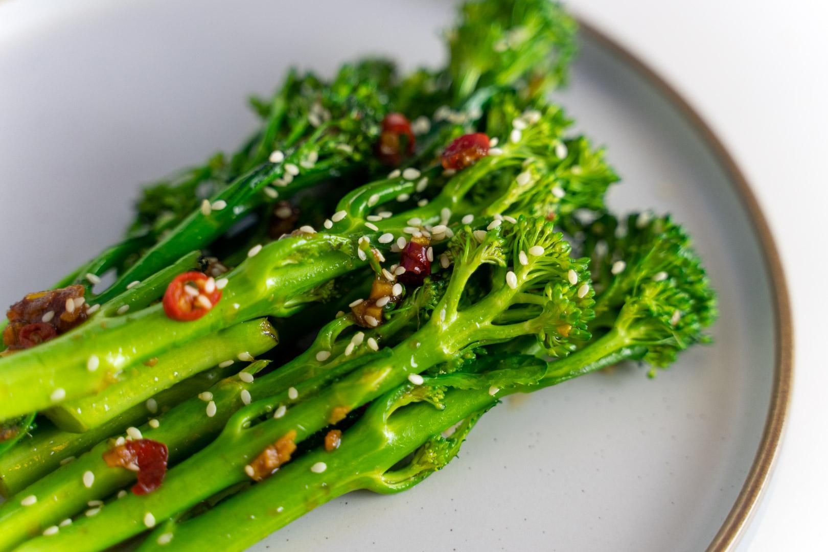 Chilli And Garlic Tenderstem Broccoli Stir Fry Recipe!