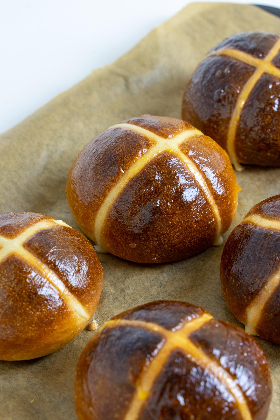 Hot Cross Bun Recipe