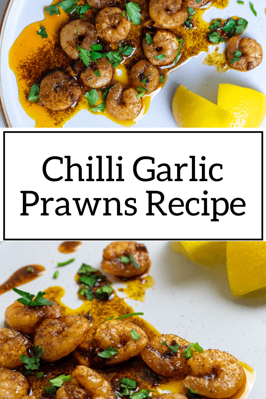 Chilli Garlic Prawns Recipe