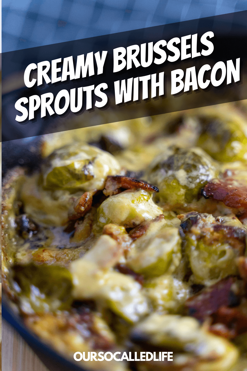 Creamy Brussels Sprouts with Bacon Recipe