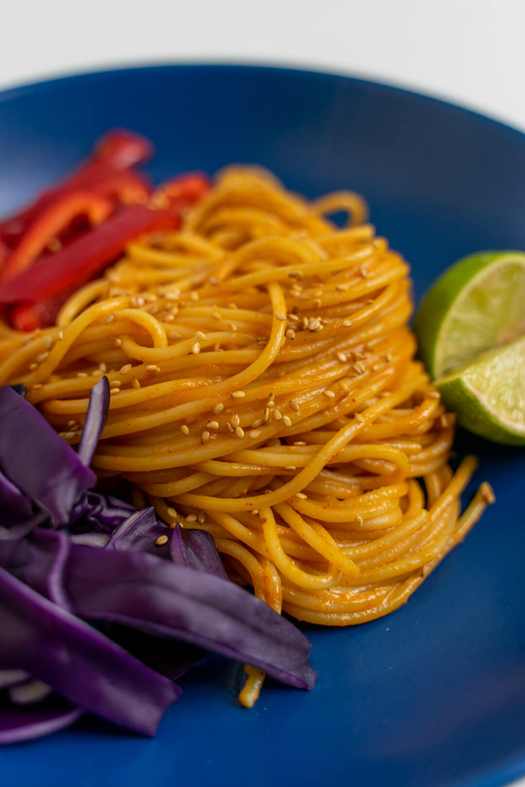 Spicy Peanut Noodle Recipe
