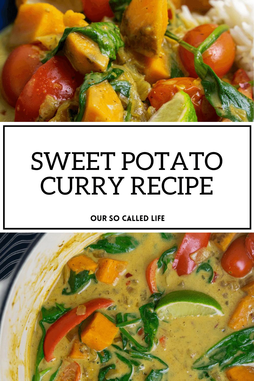 Sweet Potato Curry Recipe