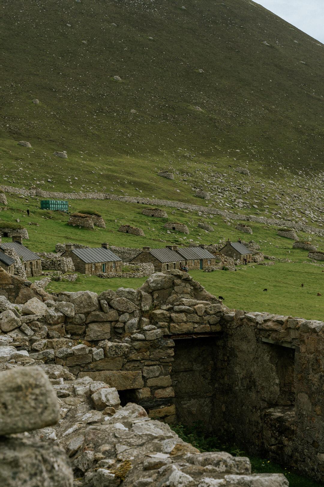 Houses on St Kilda