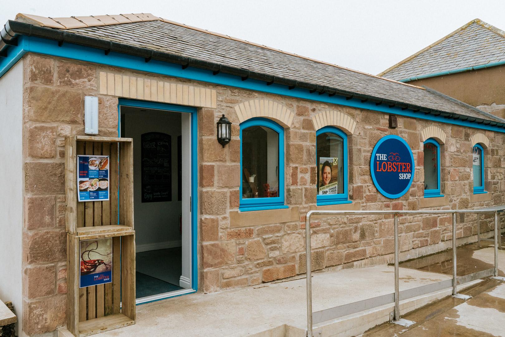 The Lobster Shop - Johnshaven