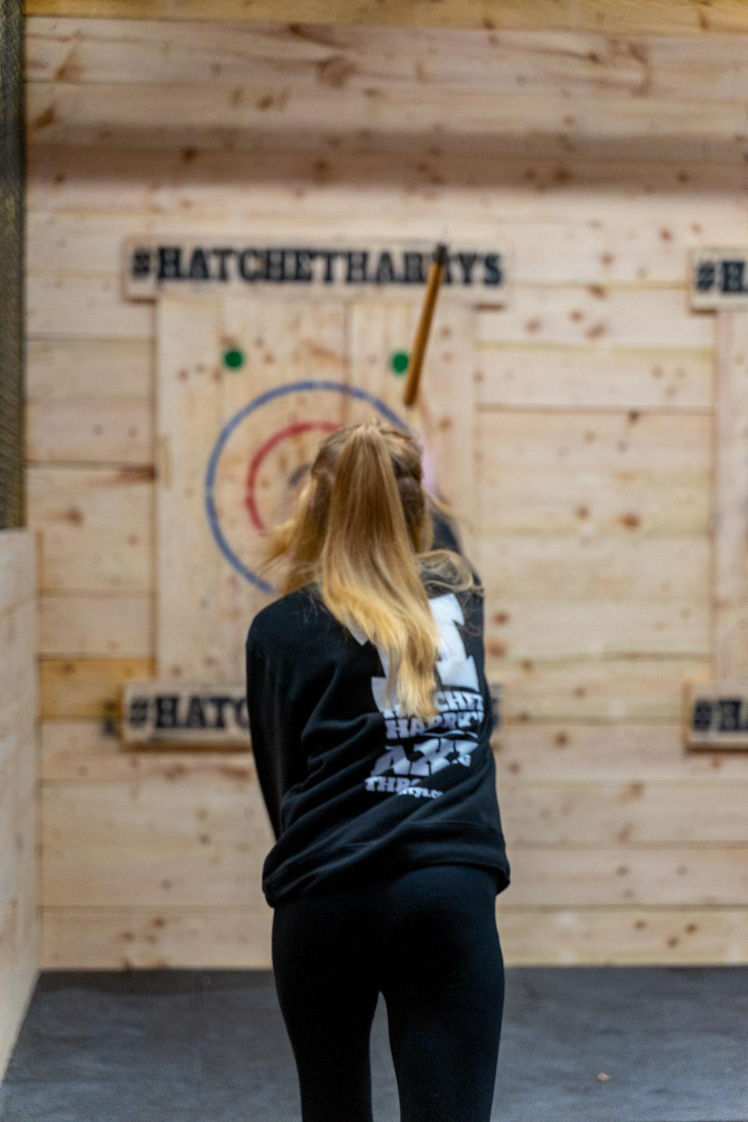 Hatchet Harrys staff