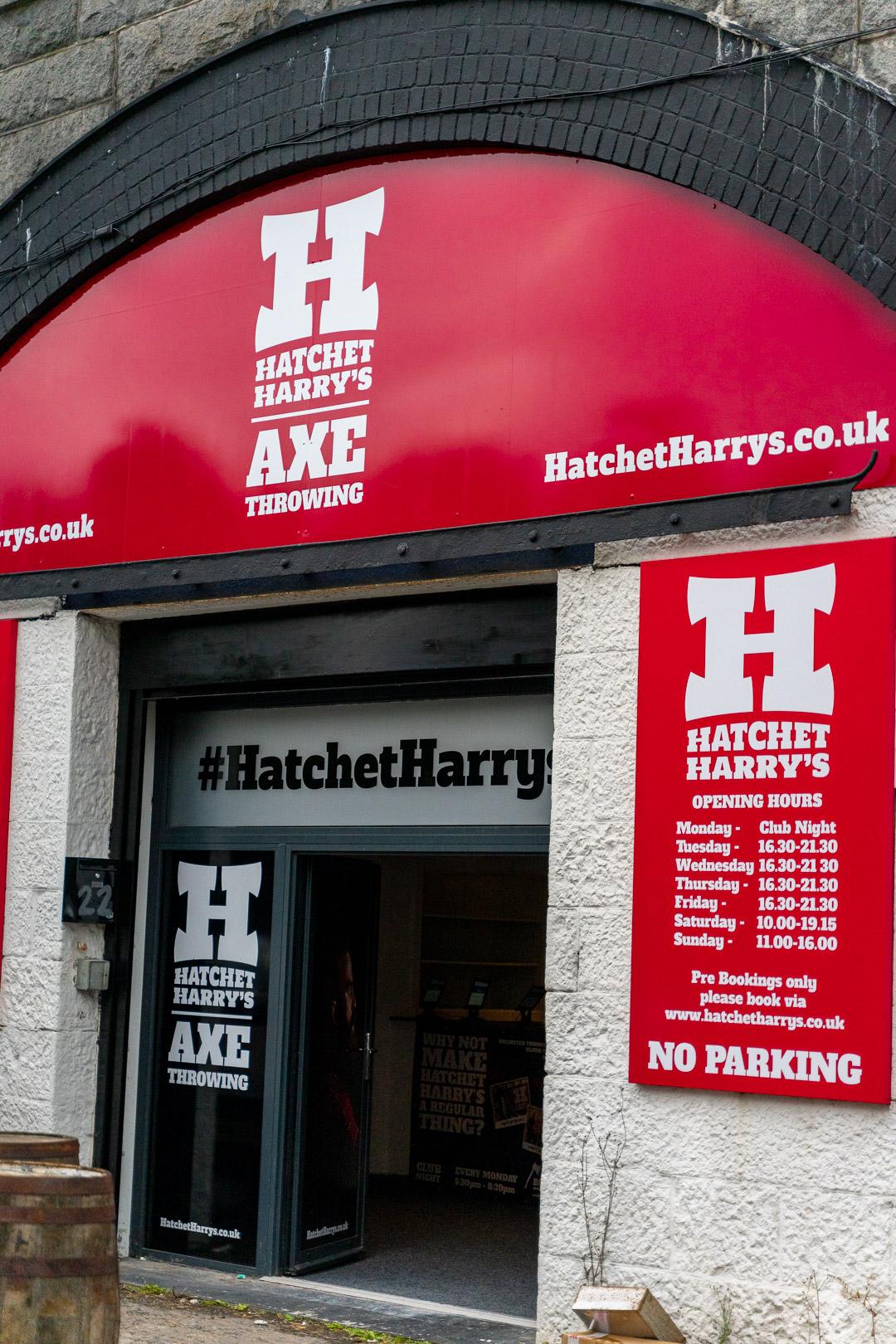 Hatchet Harrys Aberdeen