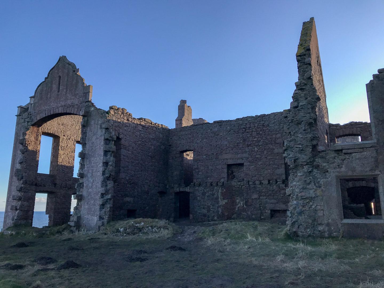 Outside Slains Castle